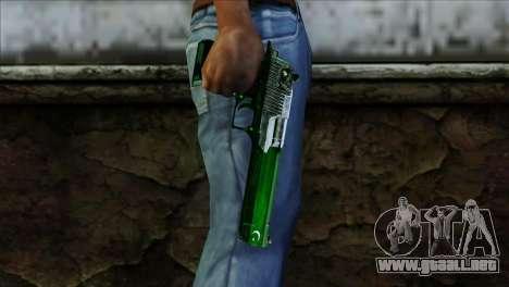 Desert Eagle Pakistan para GTA San Andreas tercera pantalla