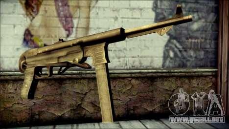 MP40 from Call of Duty World at War para GTA San Andreas