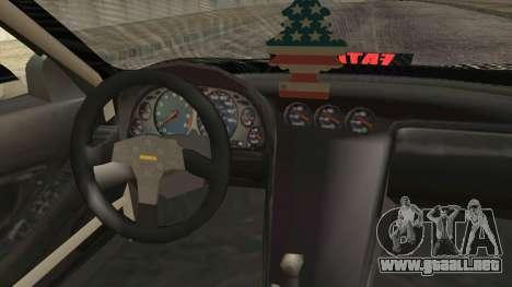 Acura NSX Miku Ghoul Itasha para la visión correcta GTA San Andreas