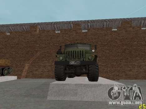 Ural 375 MLRS