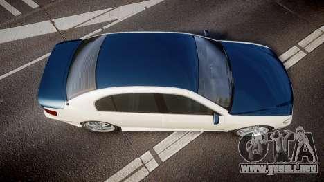 Ubermacht Oracle XS Sport para GTA 4 visión correcta