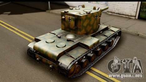 KV-2 German Captured para GTA San Andreas left