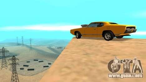 Sabre Charger para las ruedas de GTA San Andreas