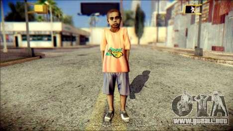 Madison Child Skin para GTA San Andreas