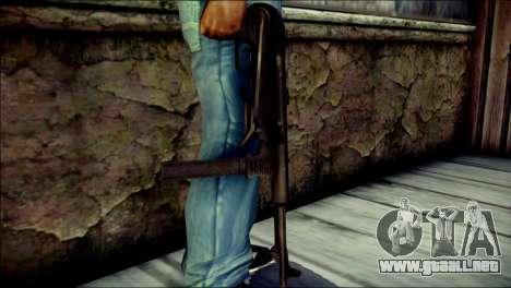 MP40 from Call of Duty World at War para GTA San Andreas tercera pantalla