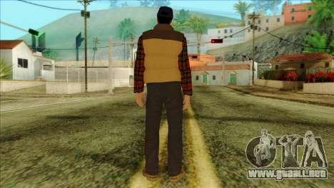 Big Rig Alex Shepherd Skin without Flashlight para GTA San Andreas segunda pantalla