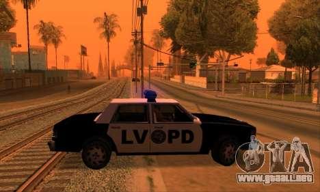 Beta LVPD Police para la visión correcta GTA San Andreas