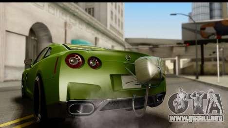 Nissan GT-R Dragster para la visión correcta GTA San Andreas