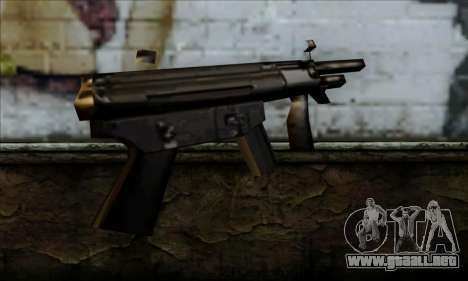 MP5K From LCS para GTA San Andreas segunda pantalla
