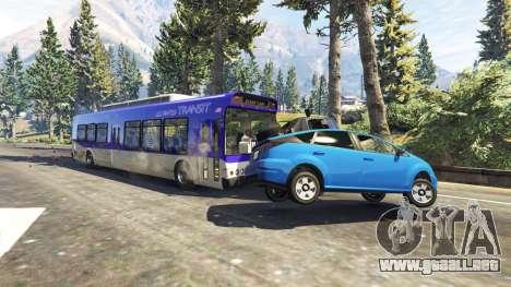 Pesados, autobuses y camiones para GTA 5