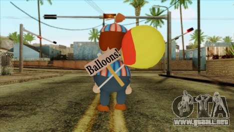 Balloon Boy from Five Nights at Freddys 2 para GTA San Andreas segunda pantalla