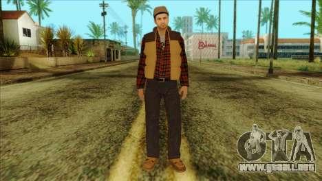 Big Rig Alex Shepherd Skin without Flashlight para GTA San Andreas