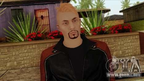 Skin 4 from Heists GTA Online DLC para GTA San Andreas tercera pantalla
