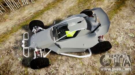 Buggy X para GTA 4 visión correcta