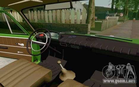 VAZ-2801 para GTA San Andreas vista hacia atrás