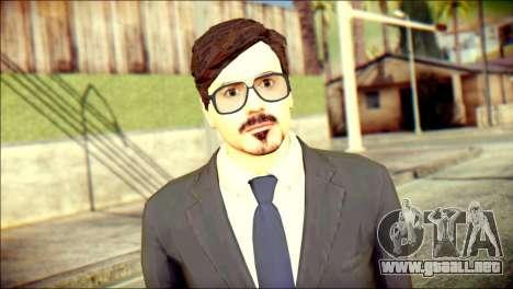 Tony Stark Skin para GTA San Andreas tercera pantalla