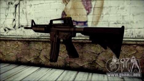 Rumble 6 Assault Rifle para GTA San Andreas segunda pantalla