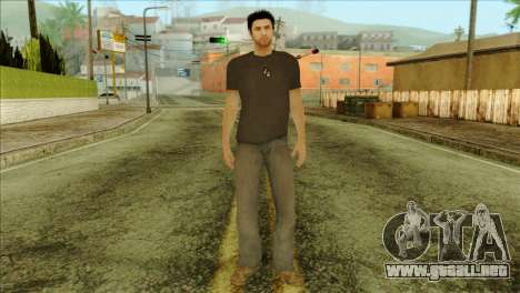 Young Alex Shepherd Skin without Flashlight para GTA San Andreas