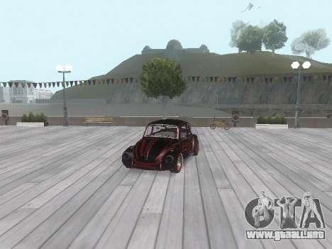 Volkswagen Super Beetle Grillos Racing v1 para las ruedas de GTA San Andreas