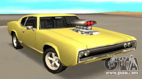 Sabre Charger para GTA San Andreas