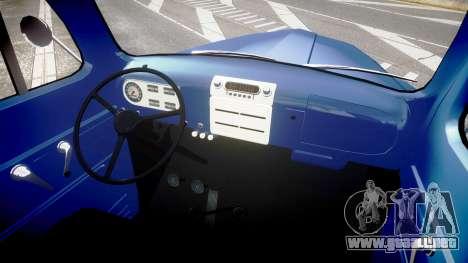 Ford F-1 1949 4WD para GTA 4 vista hacia atrás