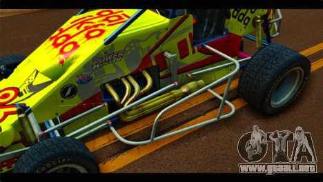 Larock Sprinter para GTA San Andreas vista hacia atrás