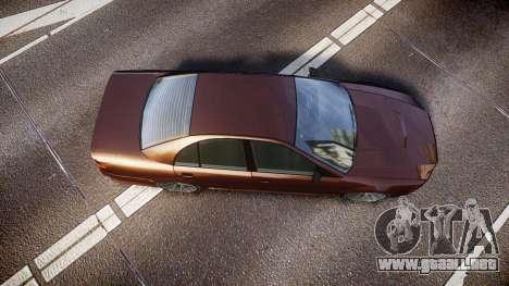 Maibatsu Vincent 16V Tuned para GTA 4 visión correcta