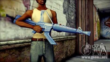 Laser Gun para GTA San Andreas tercera pantalla