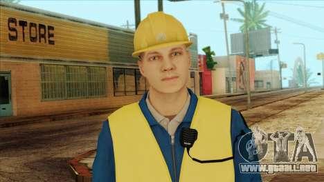 Takedown Redsabre NPC Shipworker v1 para GTA San Andreas tercera pantalla