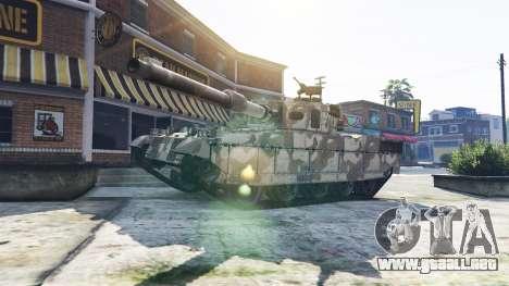 GTA 5 Tanques con 5 estrellas