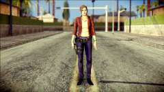 Claire Redfield from Resident Evil para GTA San Andreas