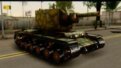 KV-2 German Captured para GTA San Andreas