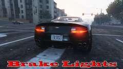 Las luces de freno para GTA 5