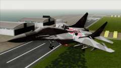 MIG-29A Polish Air Force Kosynierzy para GTA San Andreas