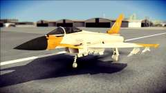 EF-2000 Typhoon  Federal Erusea Air Force para GTA San Andreas