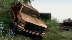 Chevrolet Silverado 2014 Work para GTA San Andreas