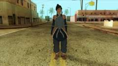 Korra Skin from The Legend Of Korra para GTA San Andreas