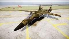 Su-47 Berkut bosque