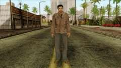 Classic Alex Shepherd Skin without Flashlight para GTA San Andreas