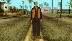 Big Rig Alex Shepherd Skin without Flashlight para GTA San Andreas