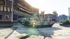 Tanques con 5 estrellas para GTA 5
