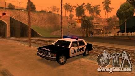 Beta LVPD Police para GTA San Andreas