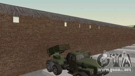 "Ural 375 MLRS "" Grad para GTA San Andreas"
