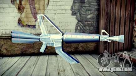 Laser Gun para GTA San Andreas