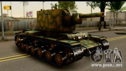 KV-2 German Captured para GTA San Andreas