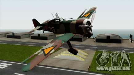 Fokker D.XXI para GTA San Andreas