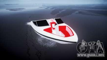 El barco de la velocidad para GTA 4