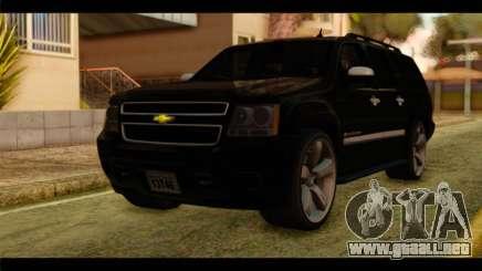 Chevrolet Suburban 2010 FBI para GTA San Andreas