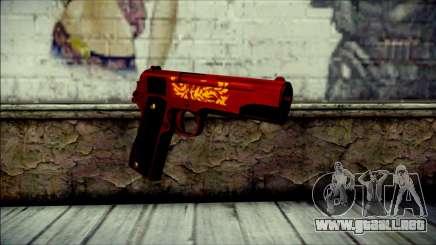 Dual Colt Red Dragon CF para GTA San Andreas