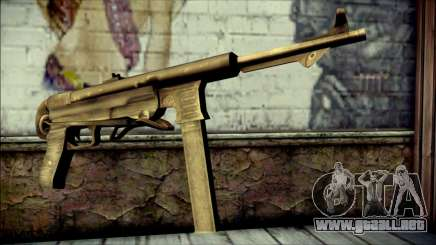 MP40 from Call of Duty World at War para GTA San Andreas
